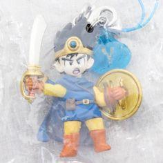 RARE Dragon Quest 3 Character Mascot Strap Brave Hero JAPAN GAME WARRIOR