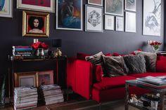 Jeden pokój, jedna kanapa, a jak różne wnętrza.