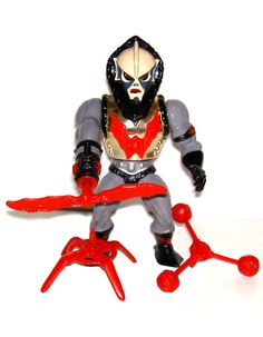 I already had Hordak, but a friend gave me this for my birthday in...1990? Hurricane Hordak - He-Man: Masters Of The Universe [1986]