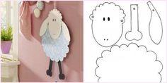 Tavaszi dekoráció - Mozgatható bárány készítése papírból | Nőivilág.hu