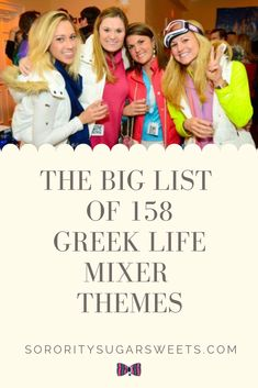 c2ec79c7986 16 Awesome Sorority Party themes images