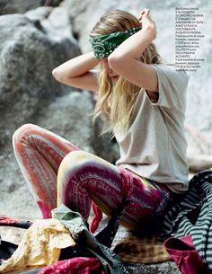 TatiTati Boho Style * Elle Italia August 2014 | Dree Hemingway by Matt Jones