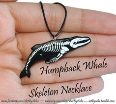 Humpback Whale Skeleton Necklace Whale Art, Humpback Whale, Killer Whales, Skeletons, Bones, Arrow Necklace, Sea, Closet, Jewelry