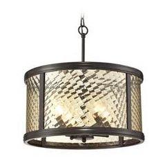glass drum pendant lighting - Bing Images