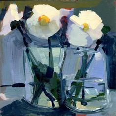 Original artwork from artist Robin Weiss on the Daily Painters Gallery Art Floral, Art And Illustration, Foto Still, Art Aquarelle, Still Life Art, Art Abstrait, Abstract Flowers, Painting Inspiration, Art Lessons