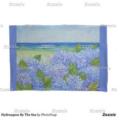 Hydrangeas By The Sea Pillow Case