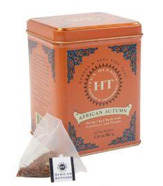 African Autumn, 20 sachets in tin, $5.99