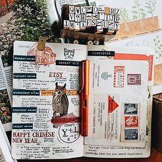 Absent minded FOREVEVER  . . . #myplannerbabes #planneraddict #planneraddictmalaysia #moleskine #lamy #rubberstamps #mtn #travelersnotebook #travelersfactorg #plannersupplies #plannerstickers #theplannergeek #thedailywriting