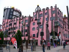 The Latest 99% Invisible: Hundertwasser and His Fight Against the Godless Line,Green Citadel, Magdeburg, Germany. Image © Flickr user johnsam