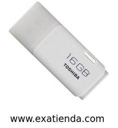 Ya disponible Memoria USB 2.0 Toshiba 16gb blanco   (por sólo 15.95 € IVA incluído):   -Capacidad: 16GB -Interface: USB 2.0 -Velocidad lectura: 17MB/s -Velocidad escritura: 7MB/s -Otros:- -Color: Blanco -P/N:THNU16HAY(BL5 Garantía de 24 meses.  http://www.exabyteinformatica.com/tienda/3440-memoria-usb-2-0-toshiba-16gb-blanco #memoria #exabyteinformatica
