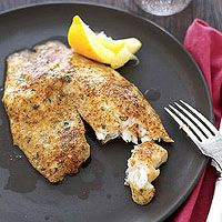 It takes only five ingredients to make this tender fish dish!