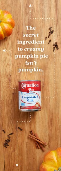 All these pies look delicious! But the secret to making your pies taste as good as they look is Carnation® Evaporated Milk. With Carnation Evaporated Milk, you'll be baking the richest and creamiest pumpkin pies around.