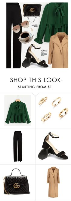 """Suspicious"" by monmondefou ❤ liked on Polyvore featuring Temperley London, Gucci and Michael Kors"