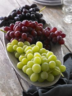 Look for the grapes you love - 96 percent of U.S. shoppers say they prefer California grapes over other grape origins when the price is the same. Ask produce department staff for California grapes at the store where you like to shop. Your preference matters to them!