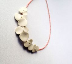 Between the Corals Handmade Necklace - organic natural shapes