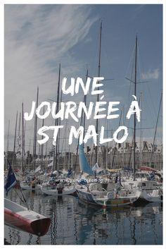 J'ai vécu un jour à St Malo cet été,  je vous invite à découvrir la ville à votre tour!