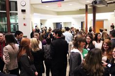 A great turnout for the first ever Isenberg Marketing Club Career Networking Night!