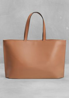 Leather tote | Leather tote | & Other Stories