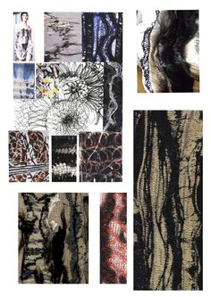 Fashion Textiles Sketchbook textile innovations; exploring interaction and synergy achieved by combining different fibres and yarns // Catherine Hodgkinson