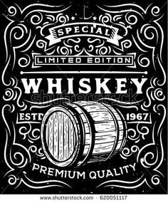 Find Hand Drawn Whiskey Label Wooden Barrel stock images in HD and millions of other royalty-free stock photos, illustrations and vectors in the Shutterstock collection. Vintage Tin Signs, Vintage Labels, Label Design, Graphic Design, Whiskey Label, Retro Logos, Car Posters, Vintage Advertisements, How To Draw Hands