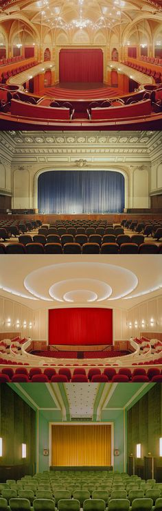 Theatre Interiors (artist unknown)
