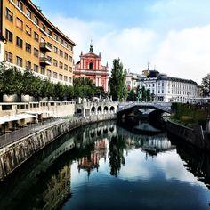 Morning stroll - Llubljana, Slovenia Slovenia, Travel, Viajes, Destinations, Traveling, Trips