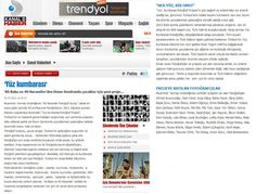 20 Mart 2012 tarihli Kanald.com.tr  http://haber.kanald.com.tr/Haber/Sanat-39/Yuz-kumbarasi-29758.aspx