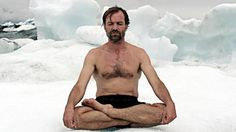 Who is Wim Hof aka The Iceman how is he able to survive in freezing temperatures and how many world records does he hold?
