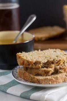 Jalapeño Cheddar Beer Bread @FoodBlogs