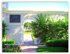 Lush tropical landscaping greets residents and visitors to the gated island community of OLD ORCHID.  This Mediterranean style single family community offers the perfect carefree Florida lifestyle with a short walk to the ocean.  http://www.VeroPremierProperties.com