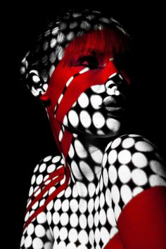 Red projection mapping