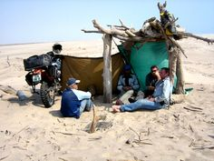 Angola, it's not like they said. - Page 13 - ADVrider Foz de Cunene, Angola. Bike trip, camping on beach. Grill bbq fish. Motorcycle adventure trip