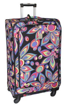 Jenni Chan Wild Flower 28 Inch 360 Quattro Upright Spinner, Multi Color, One Size Jenni Chan http://www.amazon.com/dp/B00CMK9TMQ/ref=cm_sw_r_pi_dp_fxamvb0157F9R