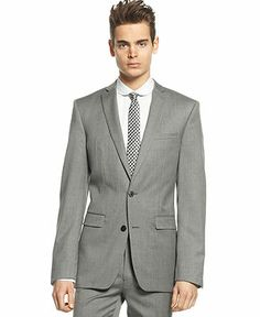 Bar III Light Grey Extra Slim-Fit Jacket - Blazers & Sport Coats - Men - Macy\'s