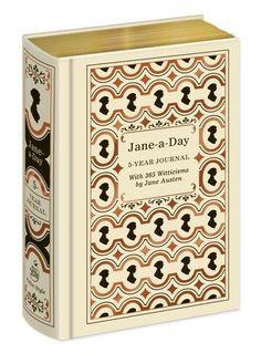 Jane Austen Jane-a-Day 5 Year Journal. Want this