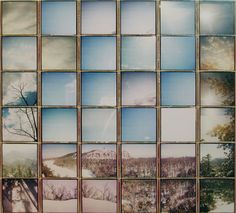 Polaroid Composites by Patrick Winfield