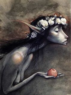 I love Brian Froud and his fairies