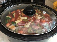 Paleo Farmer's Market Crock-Pot Soup, WIAW #20