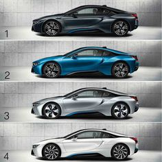 BMW i8 colors | BMW | i8 | i series | electric future | electric car | futuristic