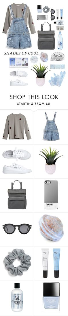 """Shades of Cool (Contest) II (""""Shades of Cool""""--Lana del Rey) by pinkandgoldsparkles on Polyvore featuring Toast, Whistles, Natasha Couture, CÉLINE, Library of Flowers, Boots No7, Butter London, Bumble and bumble and Lux-Art Silks"""