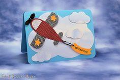 Einladungskarten - Flugzeug - Einladung - ein Designerstück von Foto-und-Kreativ-Design bei DaWanda