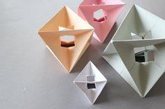 ludorn design spinner origami