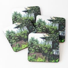 'old town' Coasters by godolilla Weird Cars, Transparent Stickers, Coaster Set, Glossier Stickers, Sell Your Art, Old Town, Art Boards, My Design, Gift Wrapping
