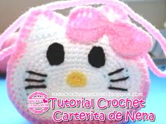 Tutorial: Carterita de nena Hello Kitty - DIY