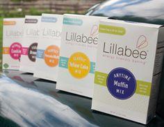 Lillabee gluten and allergy free baking mixes Gluten Free Brands, Vegan Gluten Free, Dairy Free, Muffin Mix, Allergy Free, Vegan Butter, Food Allergies, Almond Milk, Kitchens