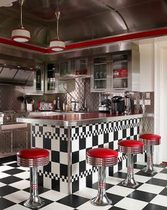 Retro Designs – Step back in time with panache! | See more about retro kitchens, retro design and kitchen designs.