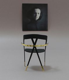 X-Federation Stacking Chair by Victor Vetterlein.
