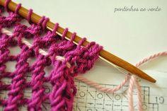 pontinhos ao vento: Querido tricot