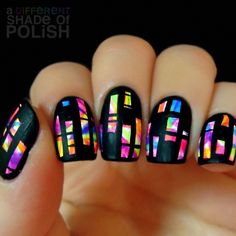 A Different Shade of Polish #nail #nails #nailart