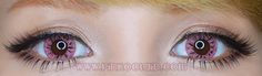 Do you want a baby pink butopaque pair of cosplay lenseswhich looks vibrant and sexy? If yes; then have a look atDolly Eye Starry pink co...